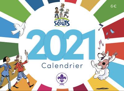 Couverture du calendrier 2021